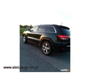 Auto do ślubu - Jeep Grand Cherokee Overland